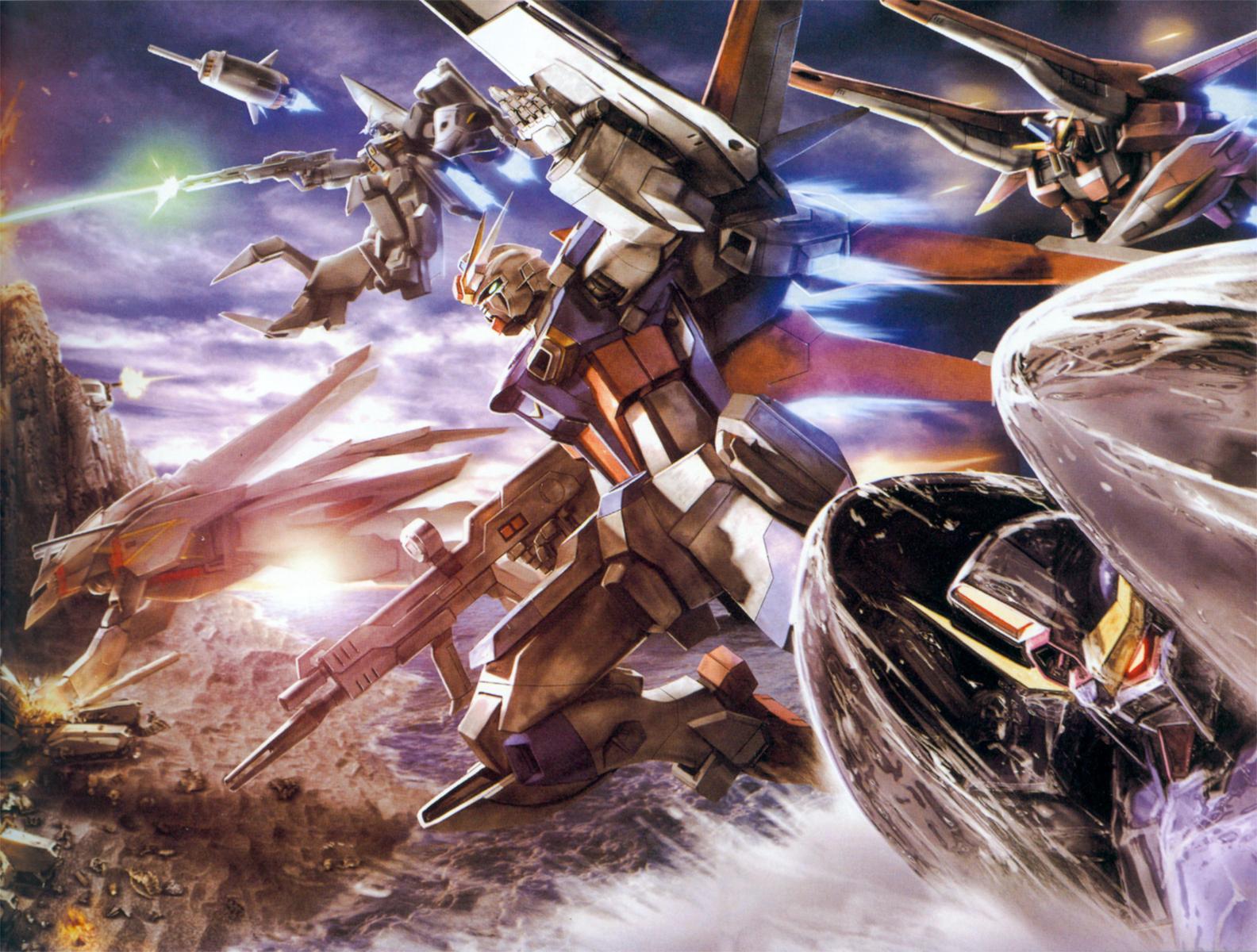 Gundam SEED Wallpaper Wallpaperholic 1584x1200