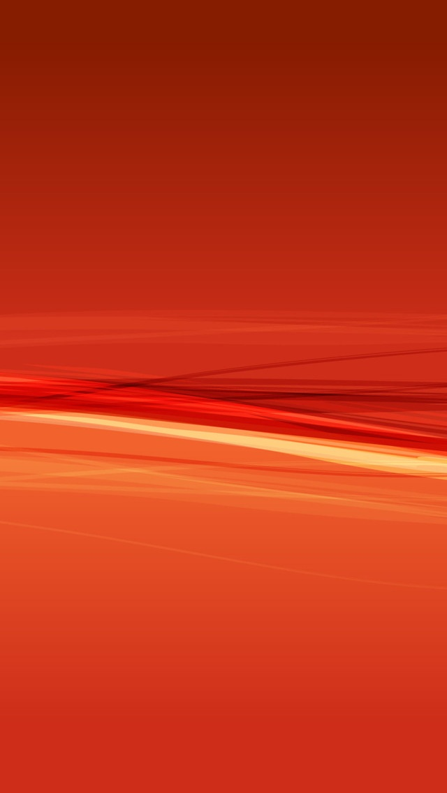Orange Abstract Curves Wallpaper   iPhone Wallpapers 640x1136