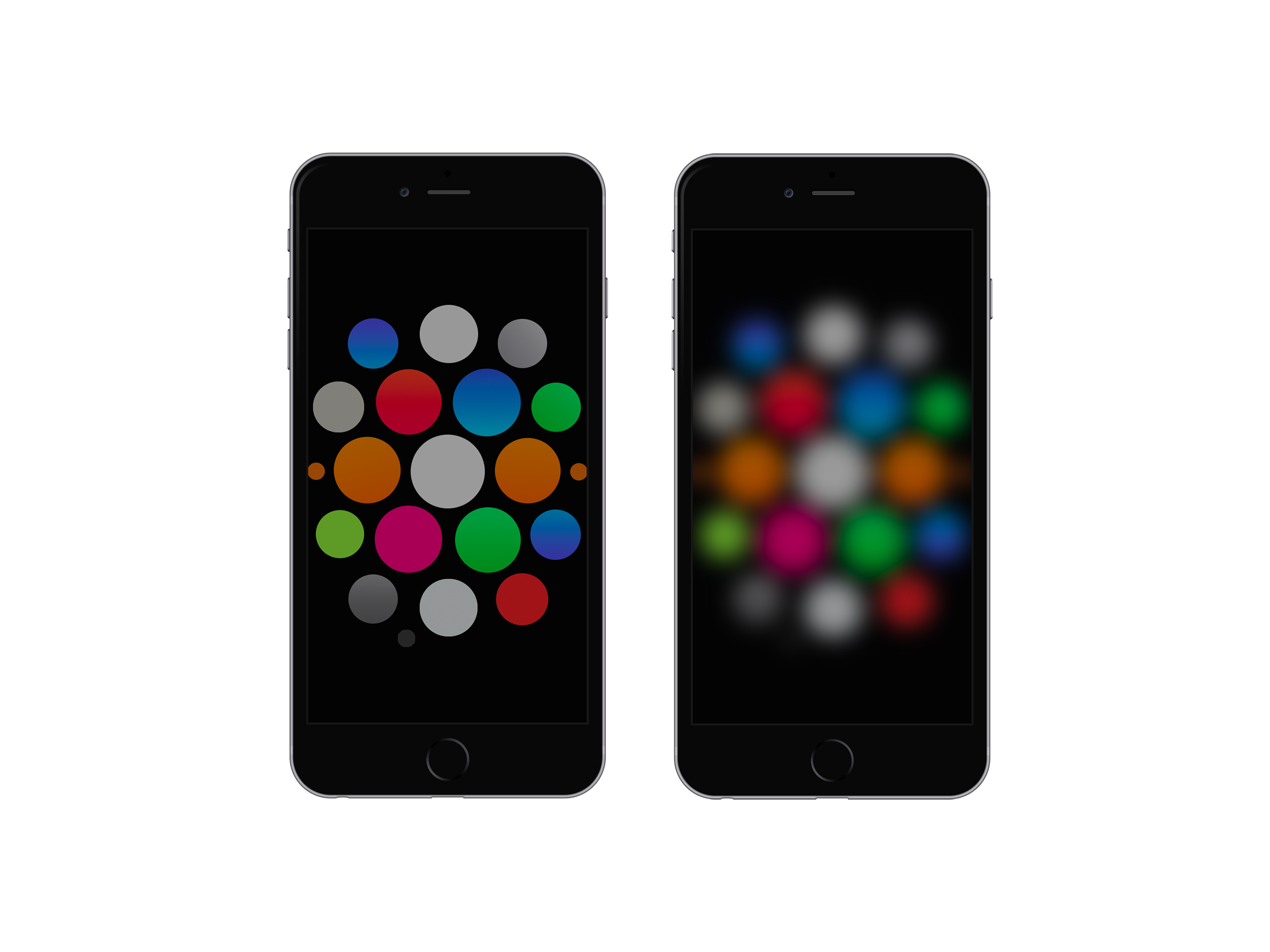 Watch Dark Wallpaper for iPhone 6 and 6 Plus by kiwimanjaro on 2667x2000
