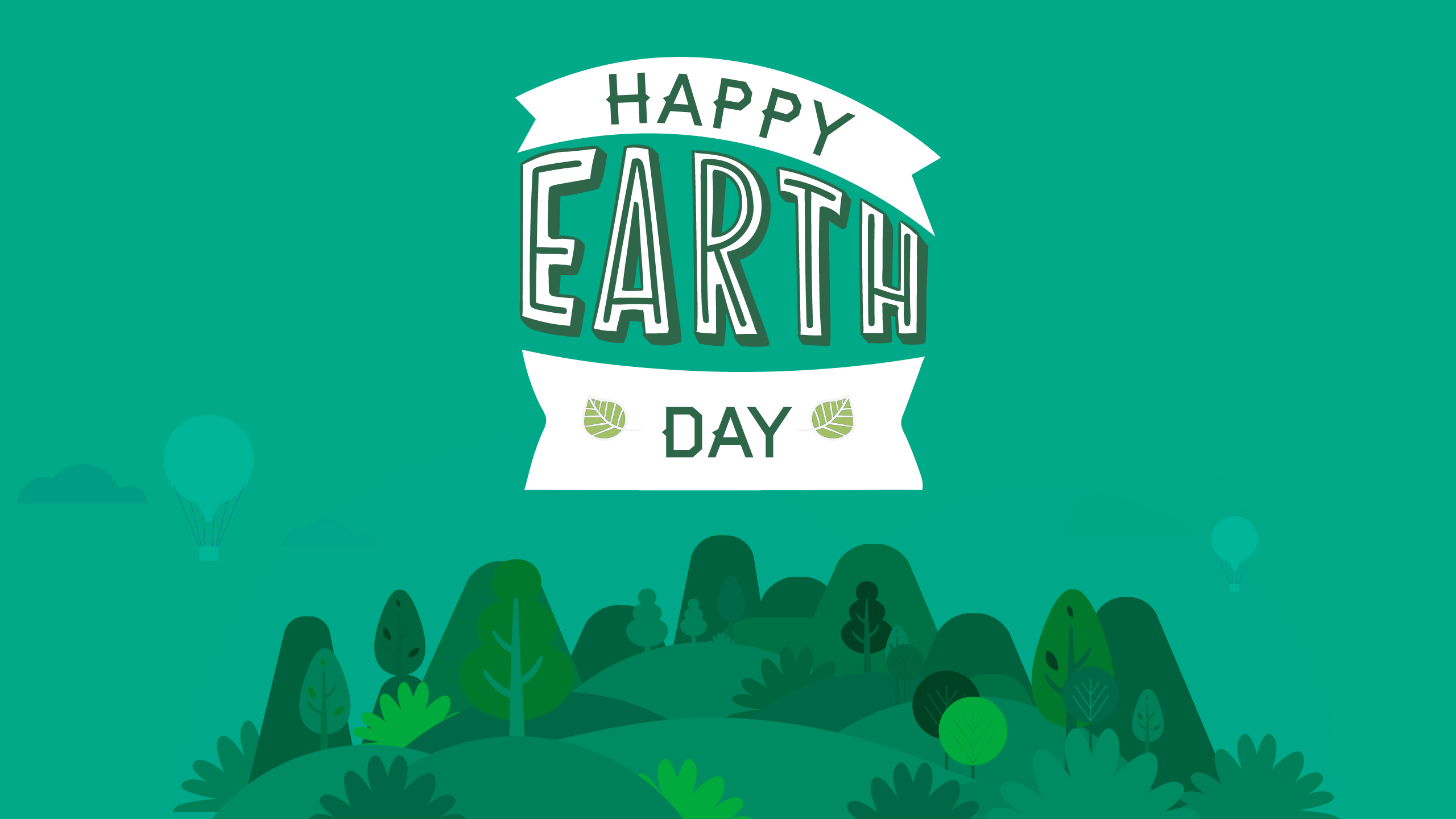 Freebie Friday USGBC wallpaper for Earth Day US Green 2560x1440