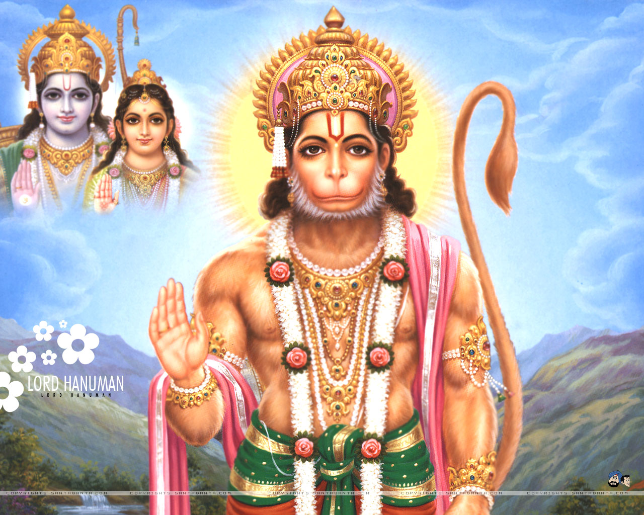 Hindu Gods HD Wallpapers Lord Hanuman Wallpapers 1280x1024