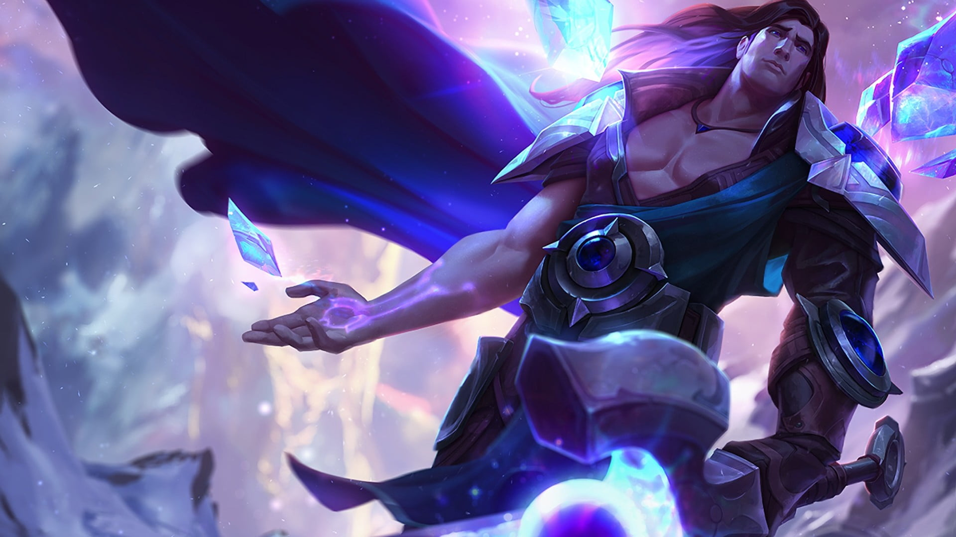 Taric illustration League of Legends Taric HD wallpaper 1920x1080