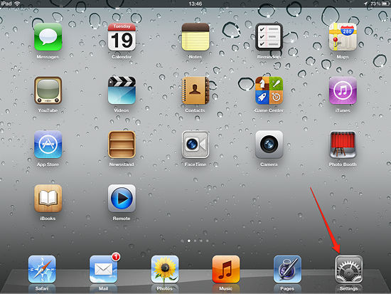 How to Change Wallpaper on an iPad   iPadable 550x413