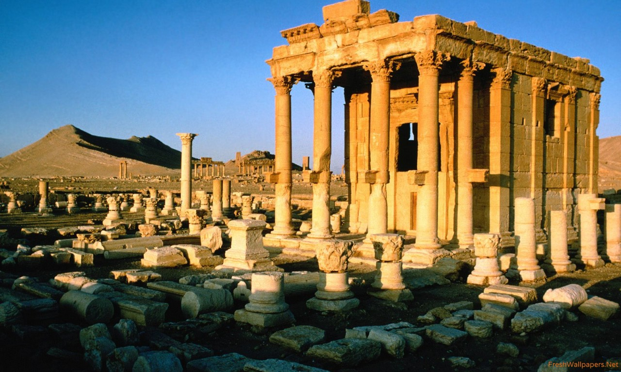 Palmyra Ruins Syria wallpapers Freshwallpapers 1280x768