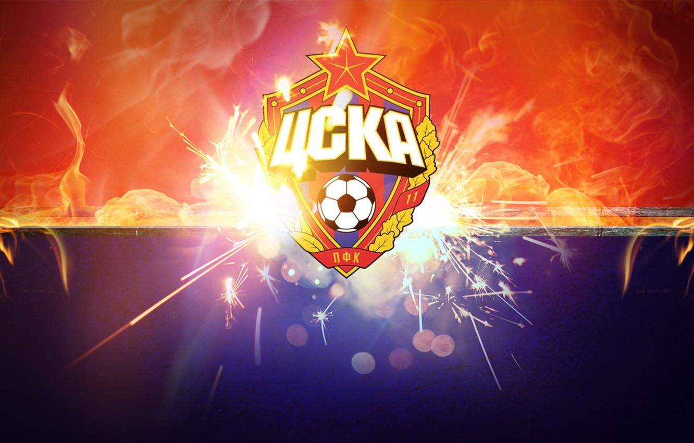 Wallpaper blue red fire football sport club CSKA CSKA 1332x850