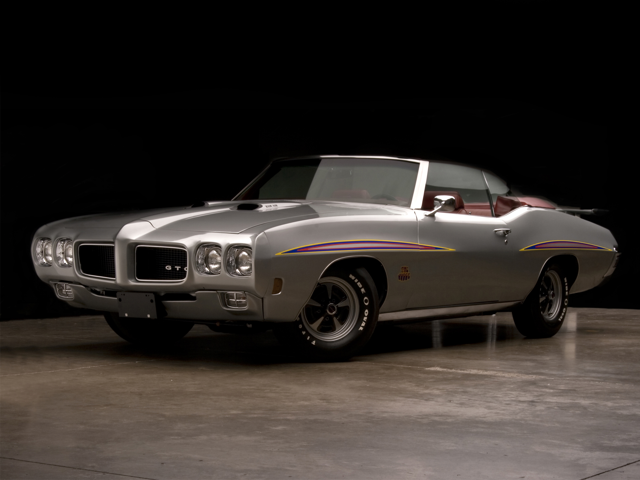 1970 Pontiac GTO Judge Convertible 4267 muscle classic j wallpaper 2048x1536