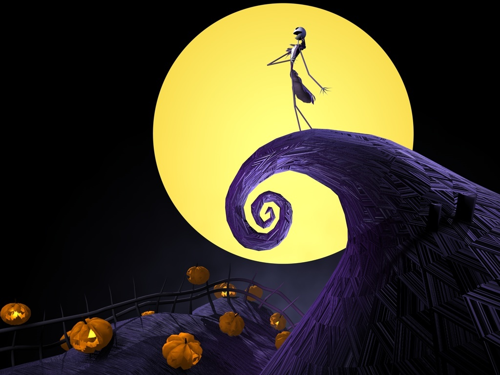 Esperanza Gates the nightmare before christmas wallpaper hd 1024x768