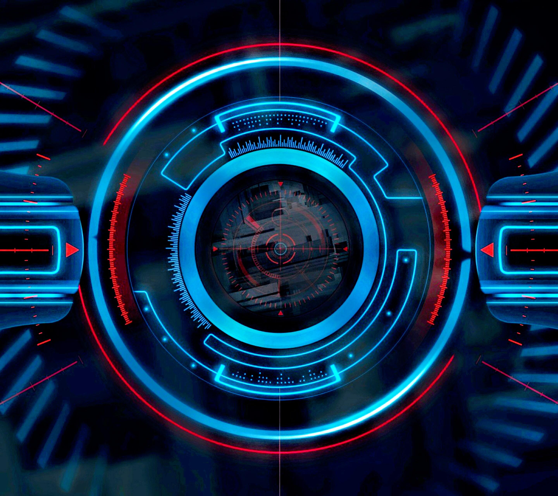 Cyber Eye Wallpaper by technet9090 2880x2560