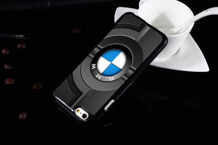 for bmw logo wallpaper Hard Black Case Cover For iPhone 6 6S 6 plus in 750x500