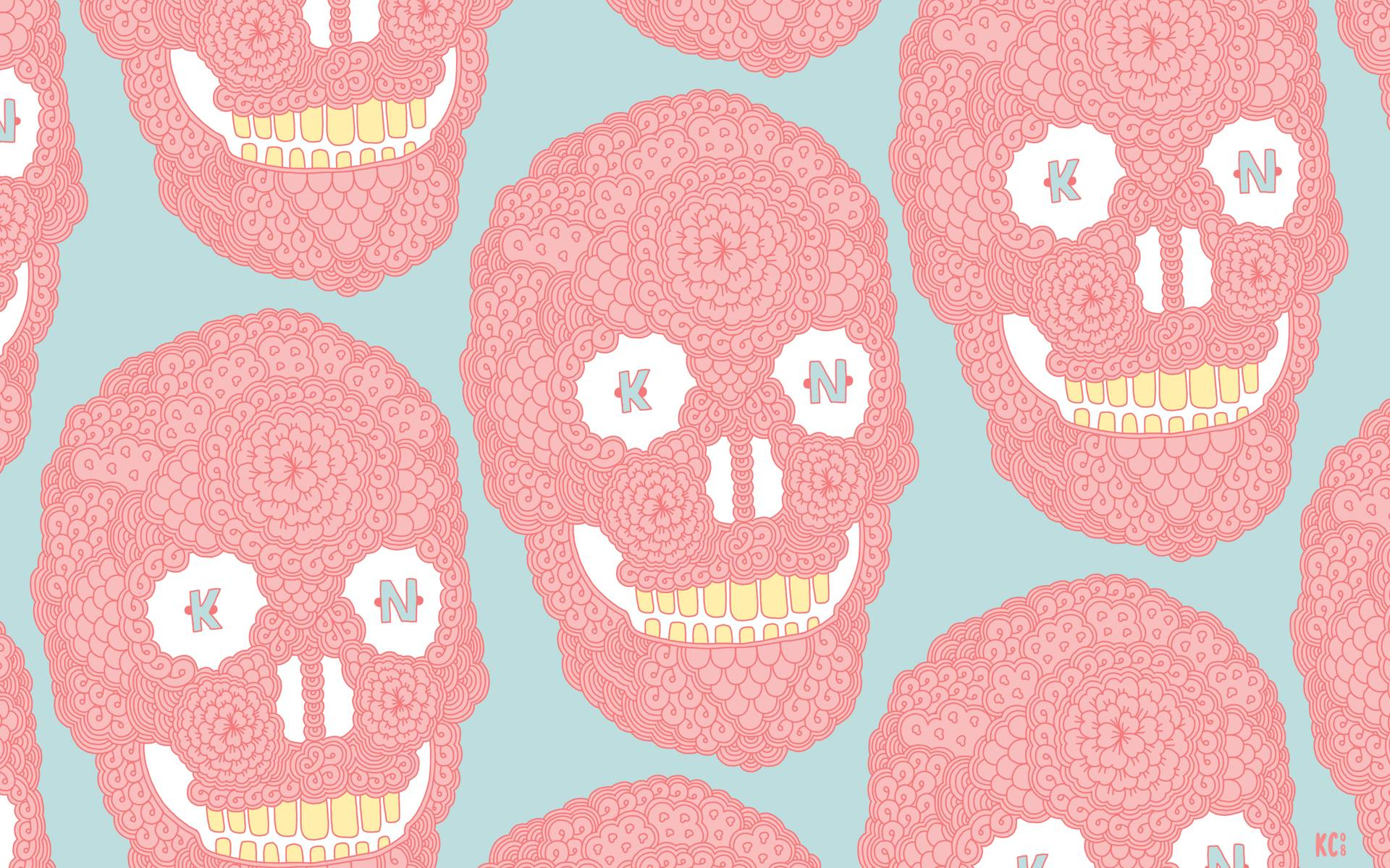 Pastel Skulls Wallpapers Pastel Skulls Myspace Backgrounds Pastel 1920x1200