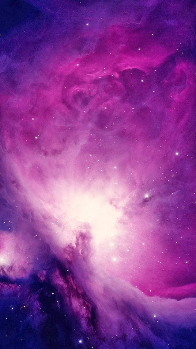 galaxy background Wallpaper in 2019 Space iphone wallpaper 640x1136