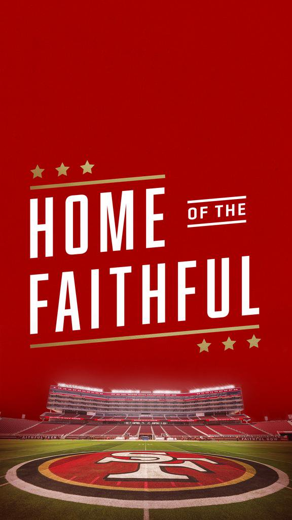 San Francisco 49ers on Twitter What kind of wallpapers would you 576x1024