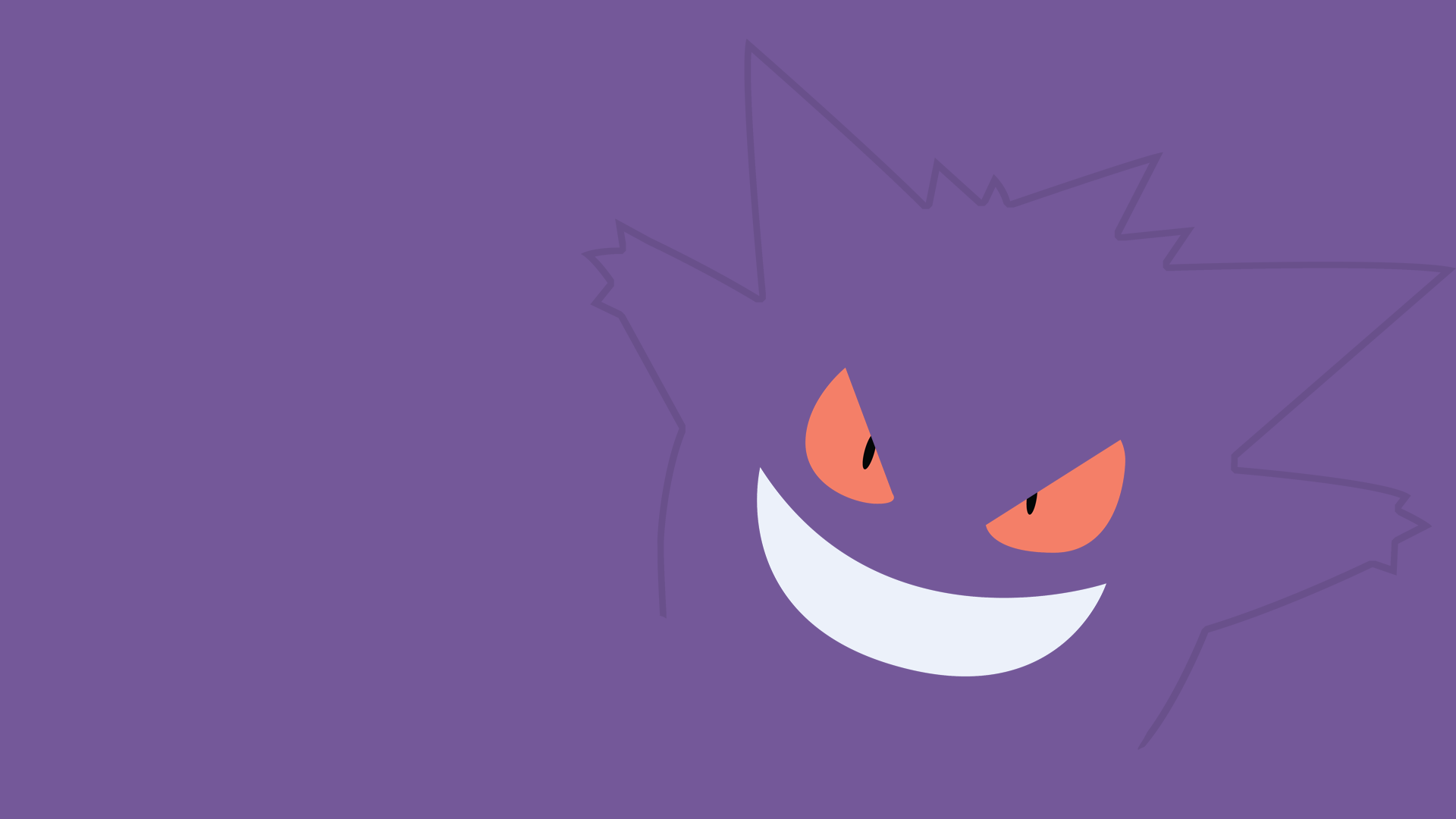 Gengar Wallpaper 1820X1080 by PyroPig75 1920x1080