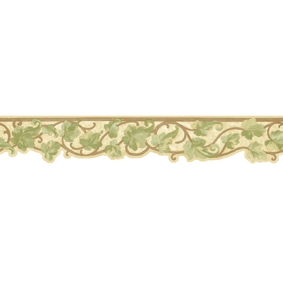 Antique Ivy Scroll Prepasted Wallpaper Border at Lowescom 900x900
