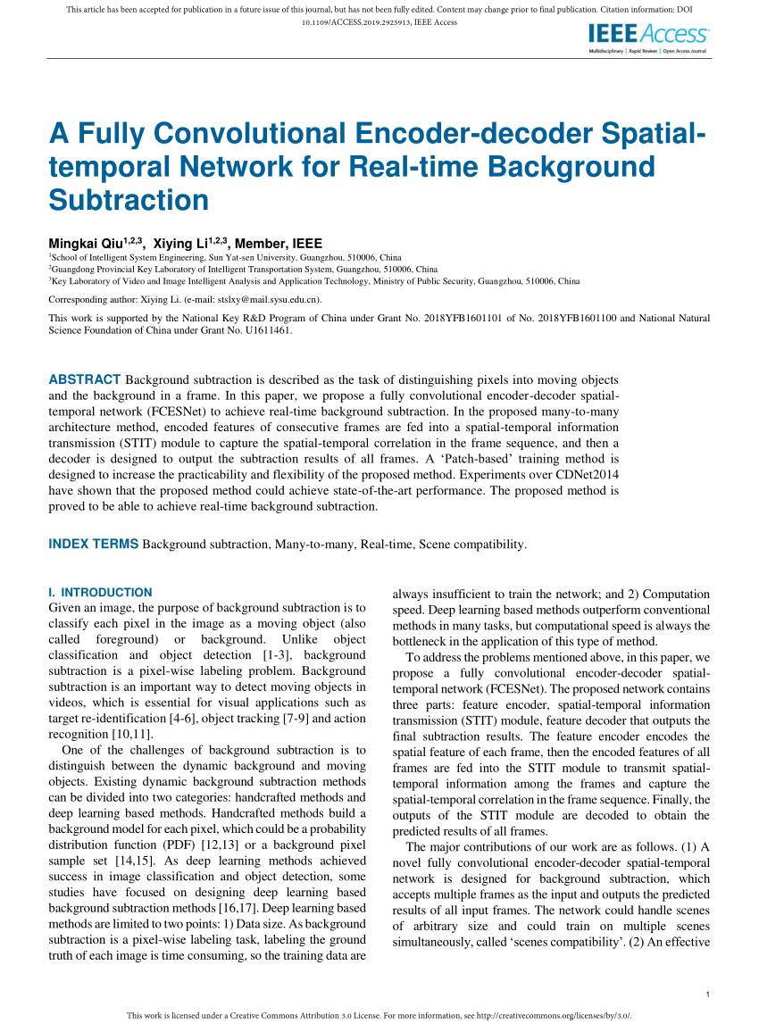 PDF A Fully Convolutional Encoder decoder Spatial temporal 850x1156