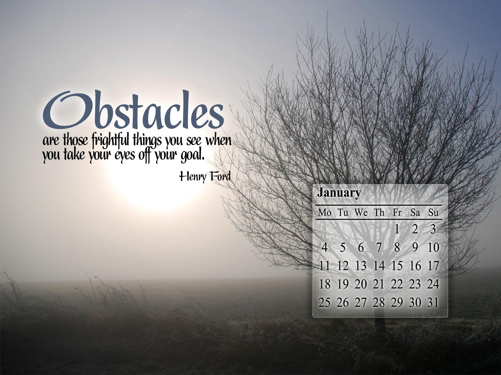 January 2010 Calendar Desktop Wallpaper 1 1600x1200