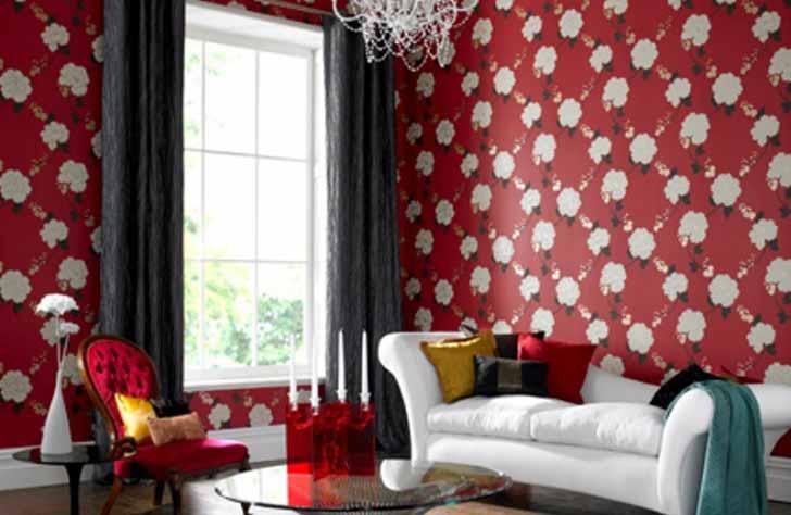 Contoh Gambar Wallpaper Dinding   Rumah Minimalis Modern 728x474