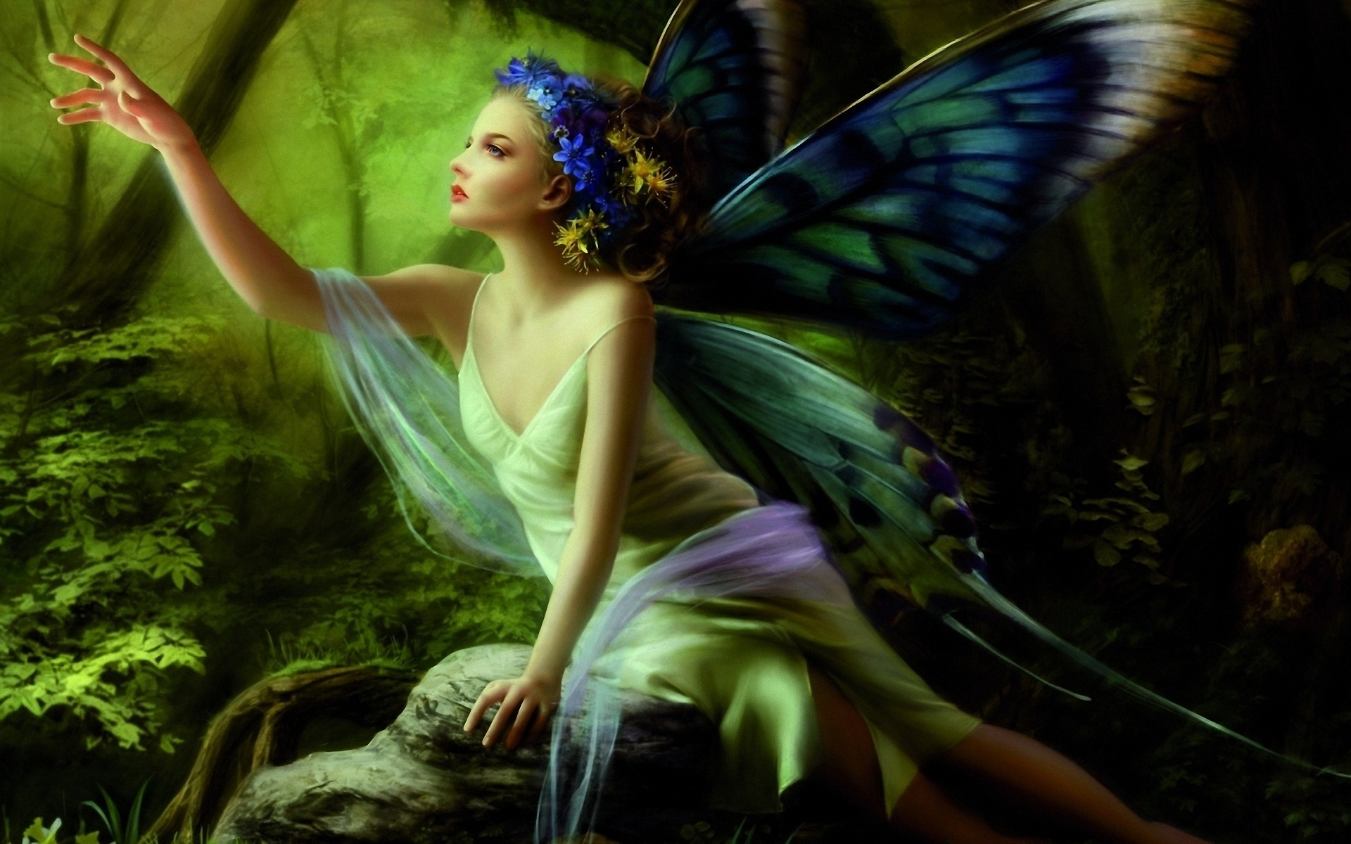 Butterfly Fairy | 1920 x 1200 | Download | Close