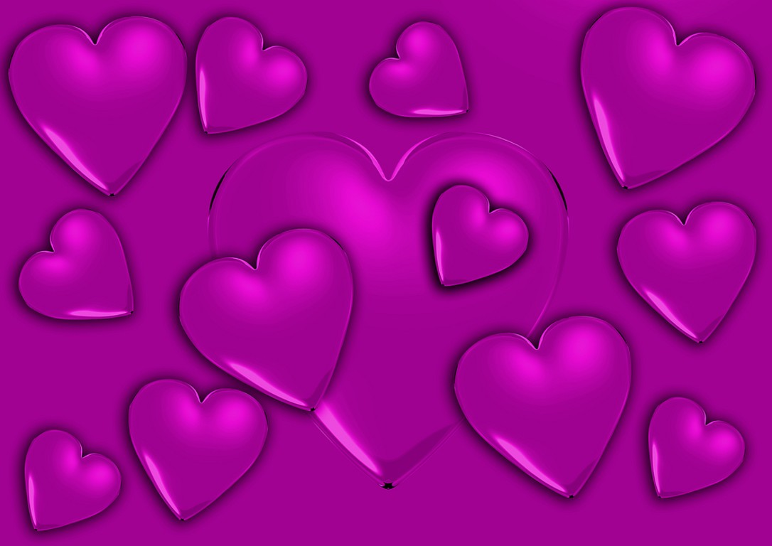 Hearts Wallpapers and Hearts Backgrounds 1086x768