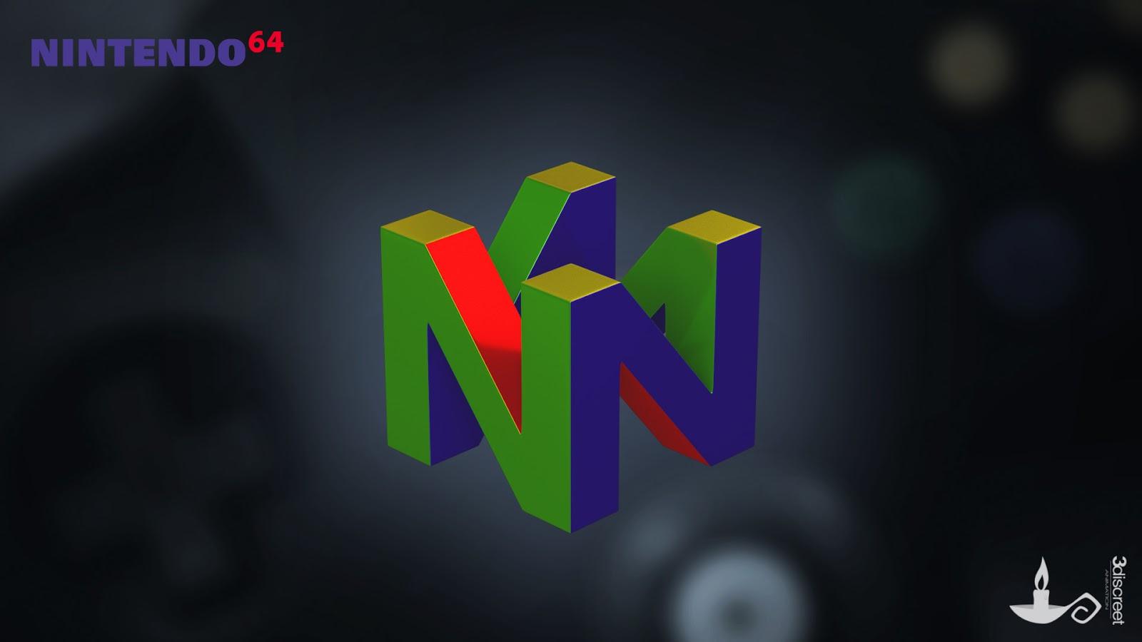 n64 logo hd wallpaper - 1200×630