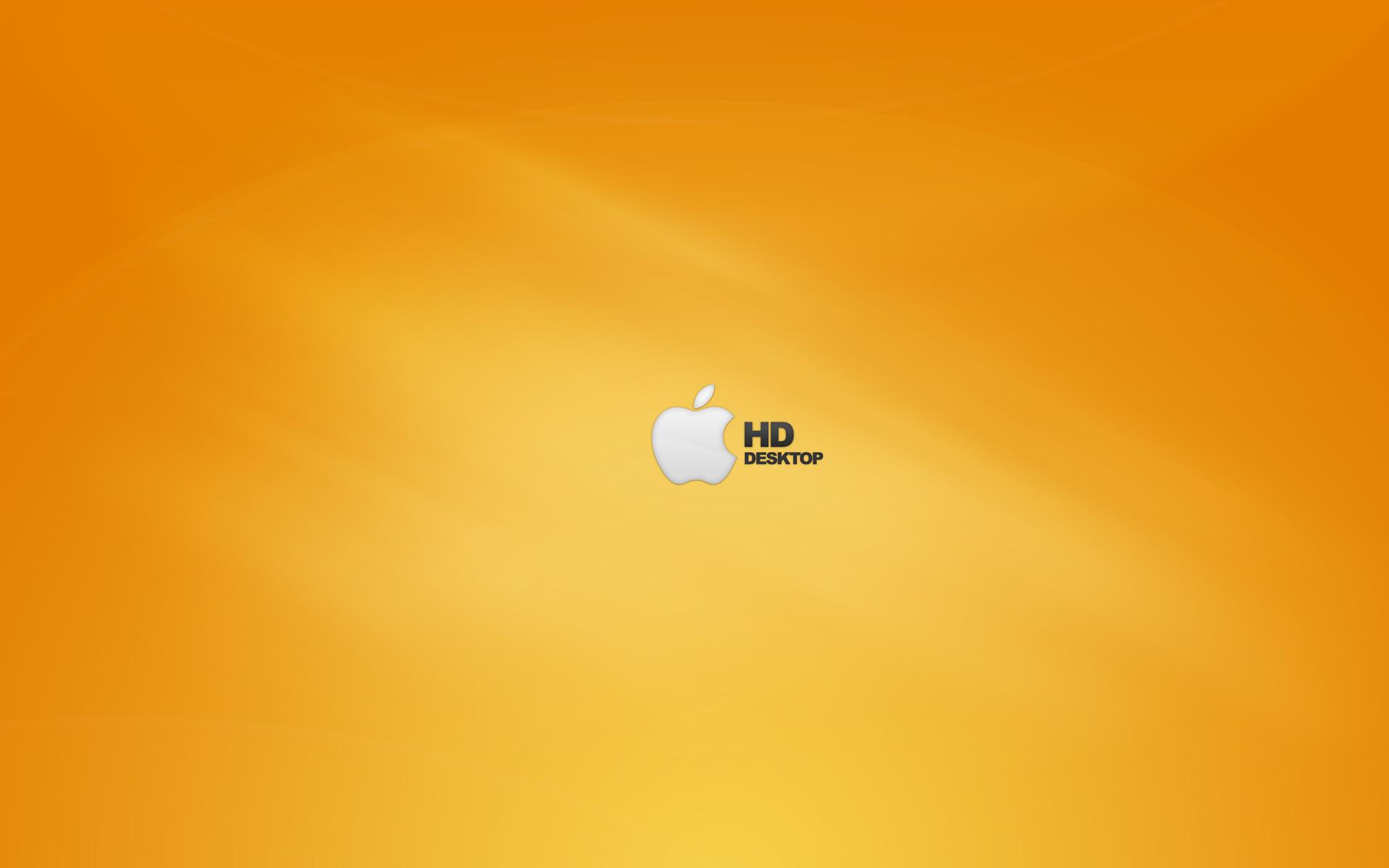 1920x1200 Apple HD Orange desktop PC and Mac wallpaper 1920x1200