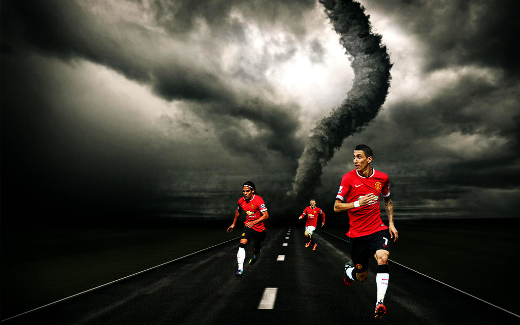 DeviantArt More Like Manchester United 20142015 Wallpaper by 1024x640