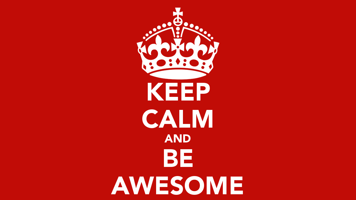 9 HD Keep Calm and Carry On Wallpapers 1366x768