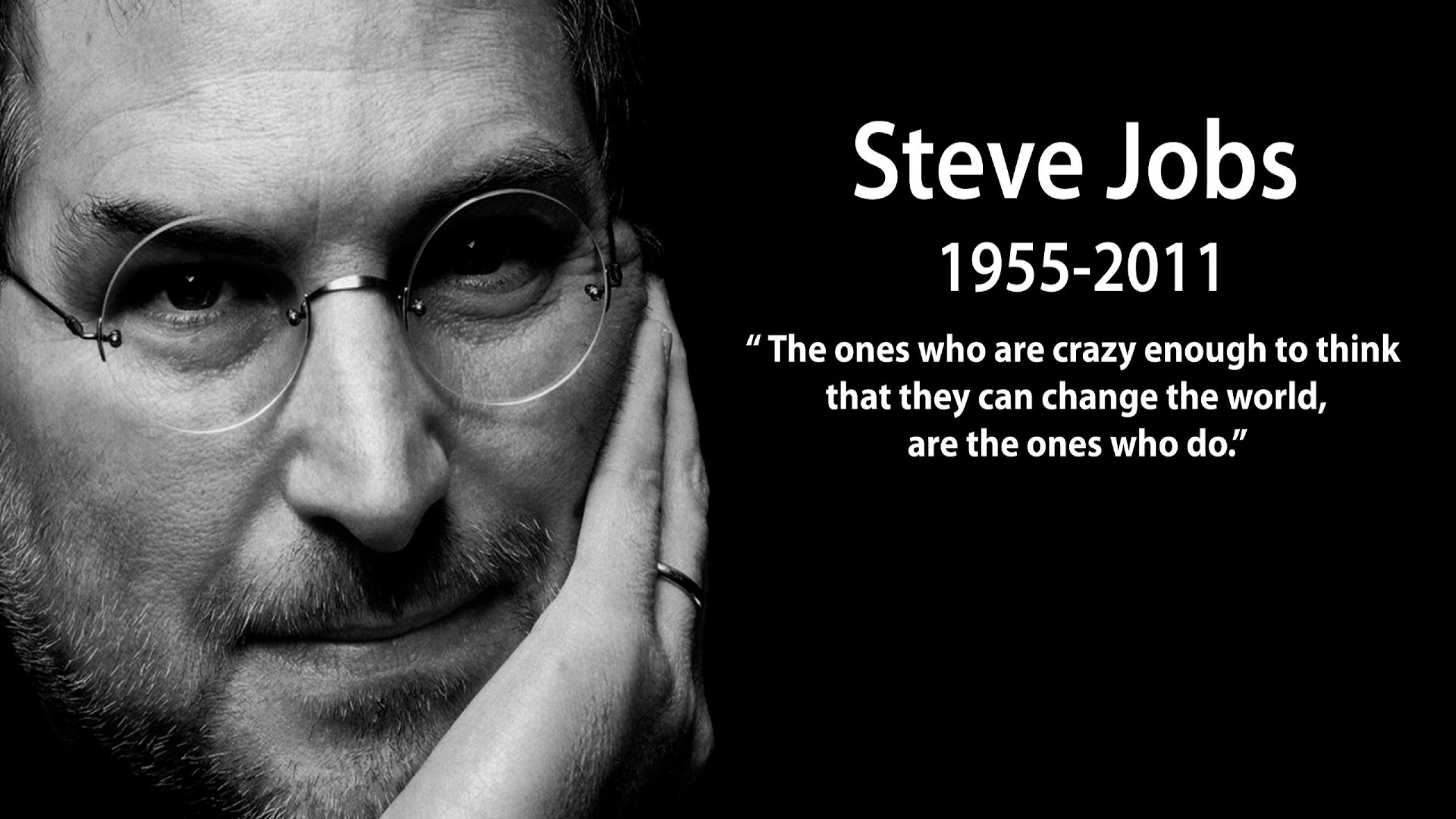 nice quotes steve jobs Desktop Best Wallpapers 2560x1440