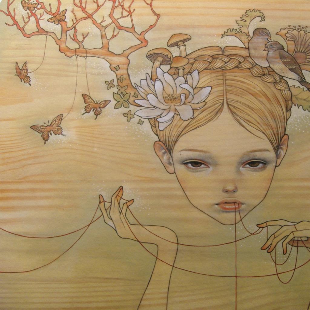 audrey kawasaki artwork 2592x1944 wallpaper Wallpaper 1024x1024