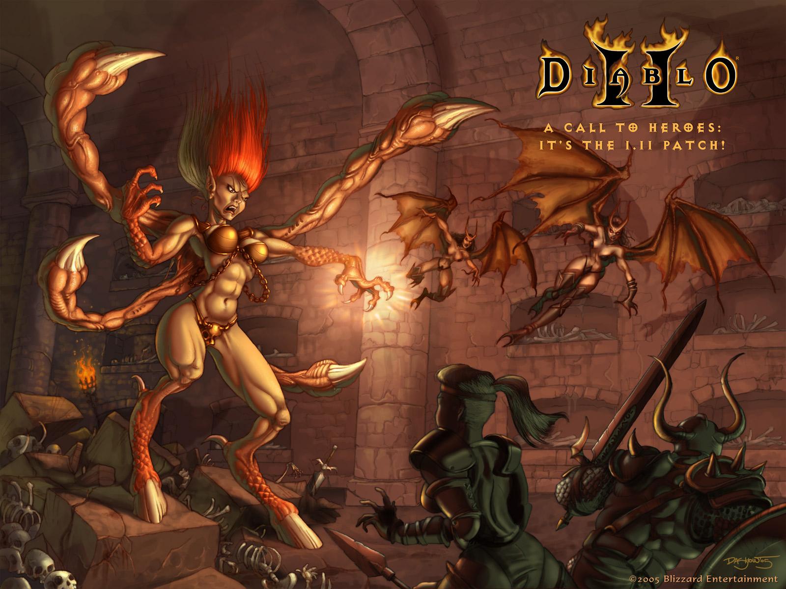 Free Download Diablo Ii Hd Wallpaper 16 1600 X 1200 Stmednet