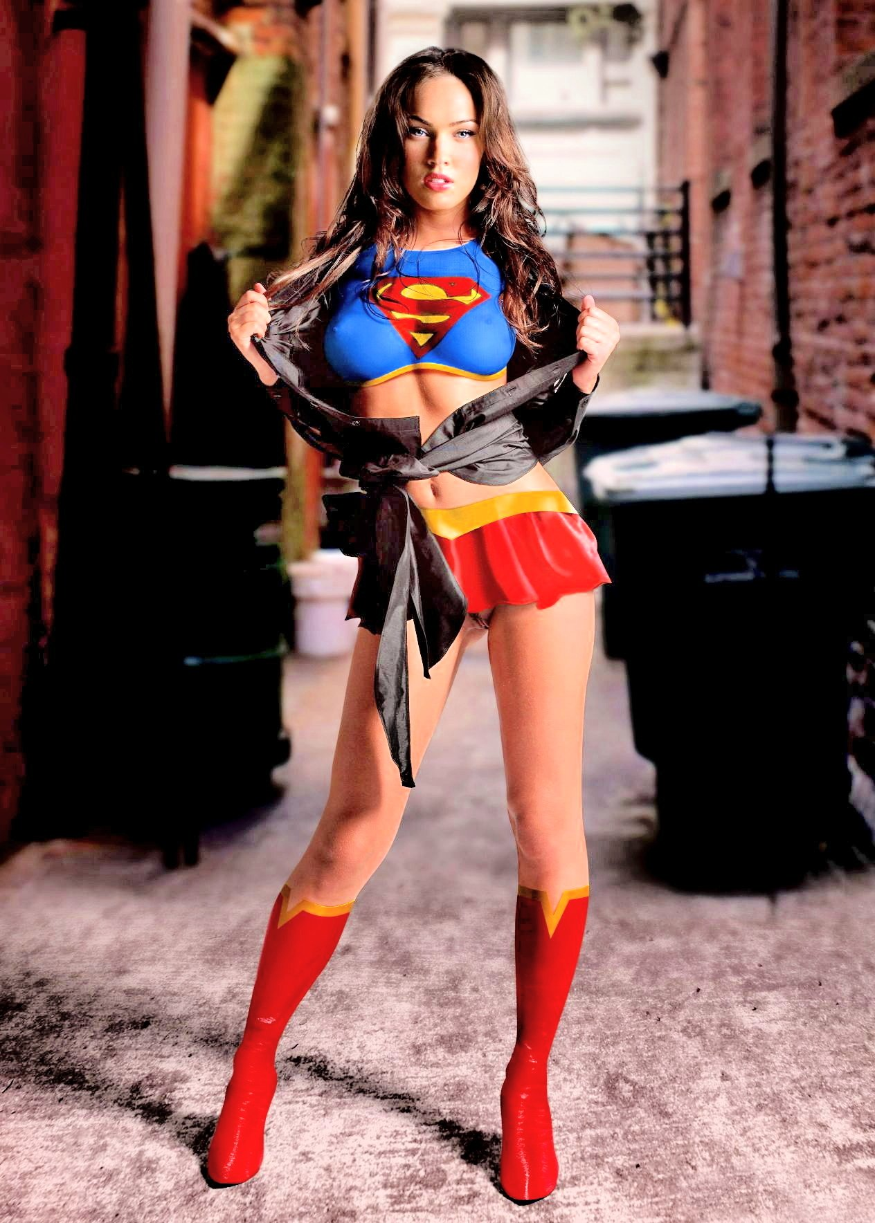 related pictures megan fox supergirl Car Pictures