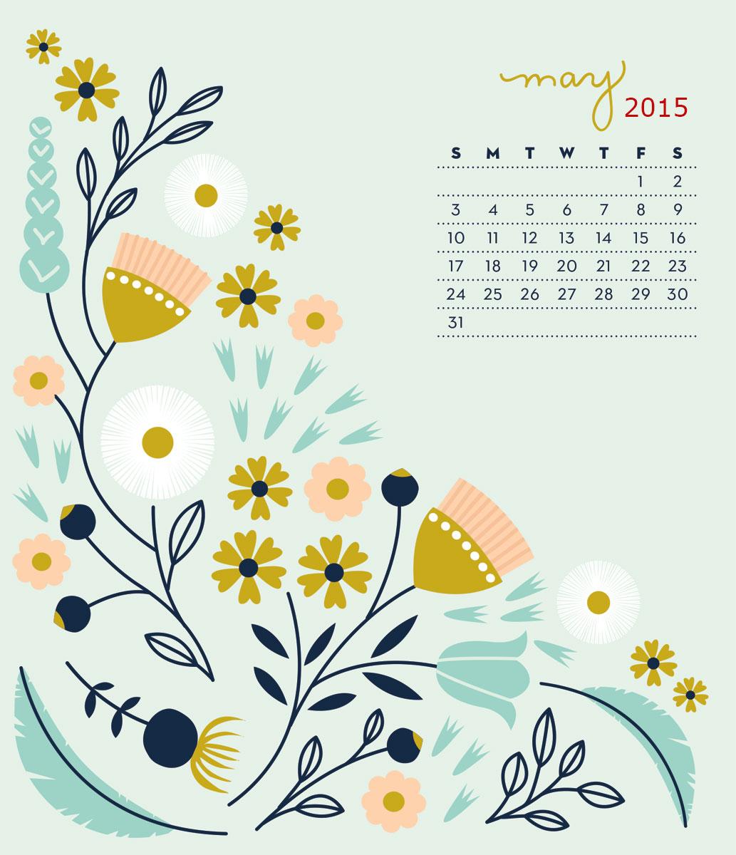 May 2015 Calendar Wallpapers HD Happy Holidays 2015 1033x1200