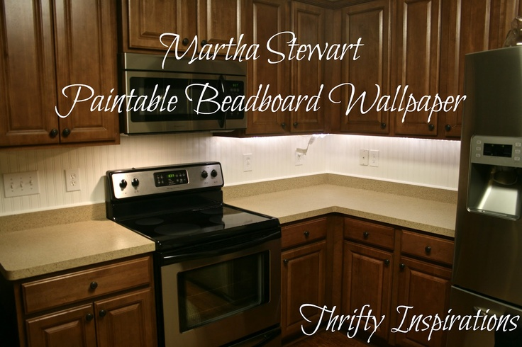Martha Stewart Paintalbe Beadboard Wallpaper And its durable 736x490