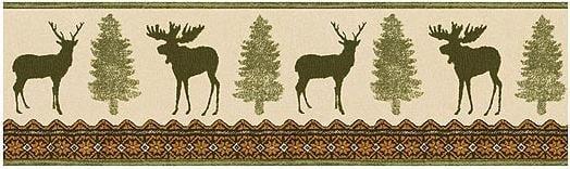 Lodge and Cabin Home Moose Cabin Decor Bathroom Accessories 524x156