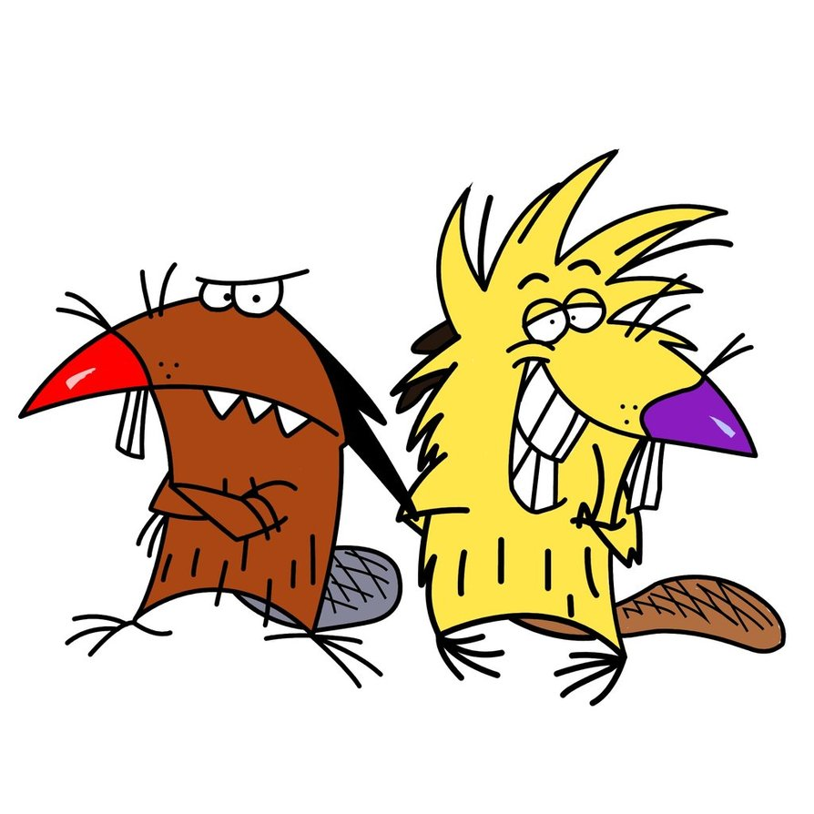 Angry Beavers Remastered 2kX2k by kilroy567 894x894