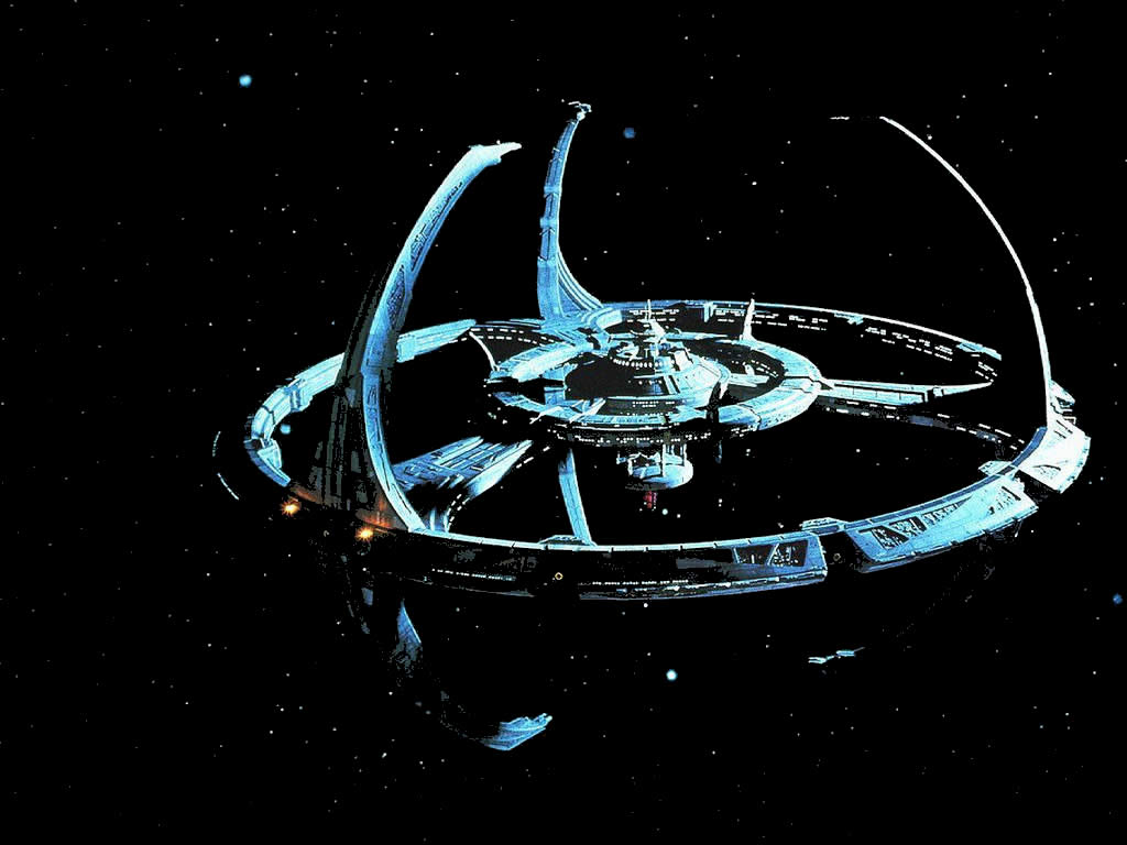 Star Trek Deep Space Nine Station 1024x768