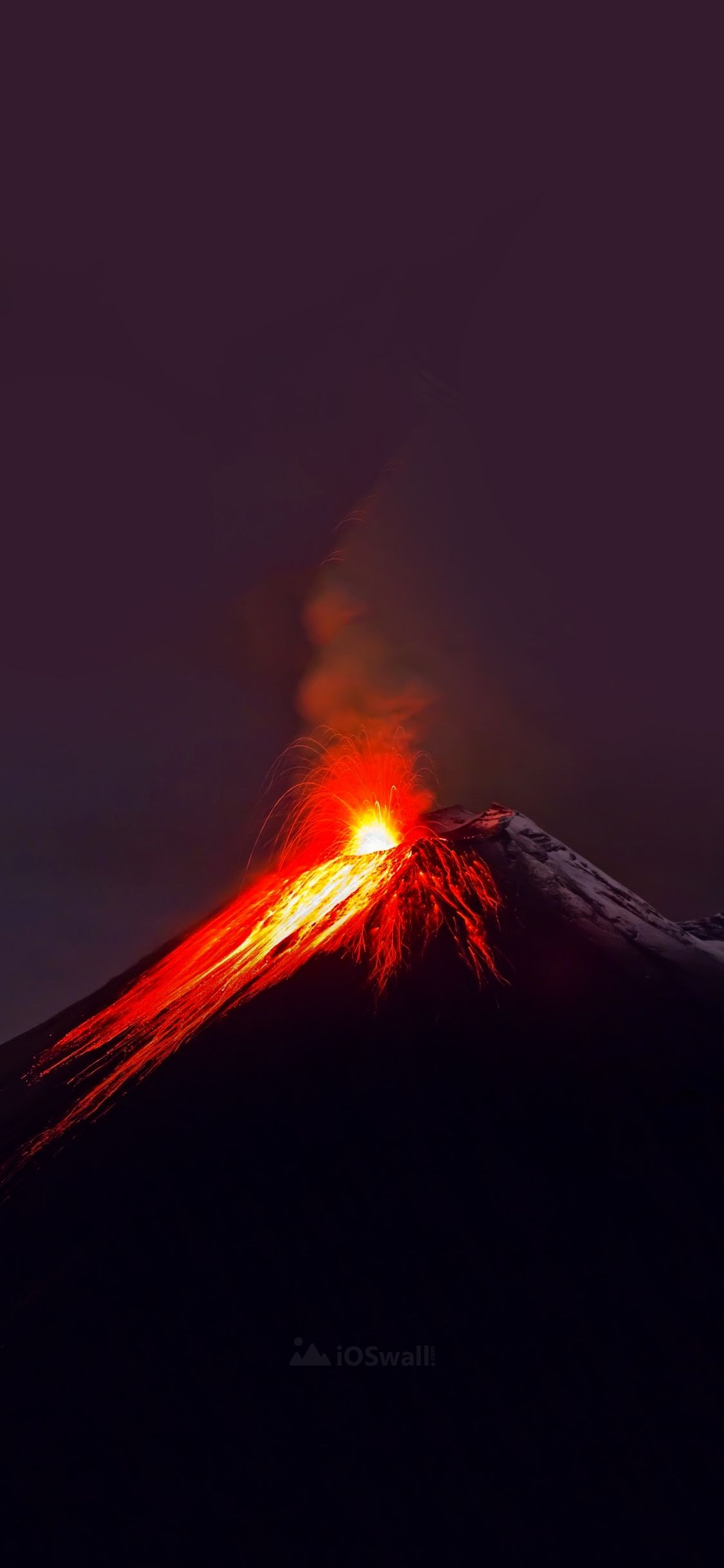 Best volcano wallpaper for iPhone x iOSwall wallpapers in 2019 1124x2432