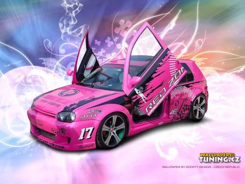 71 Pink Car Wallpaper On Wallpapersafari