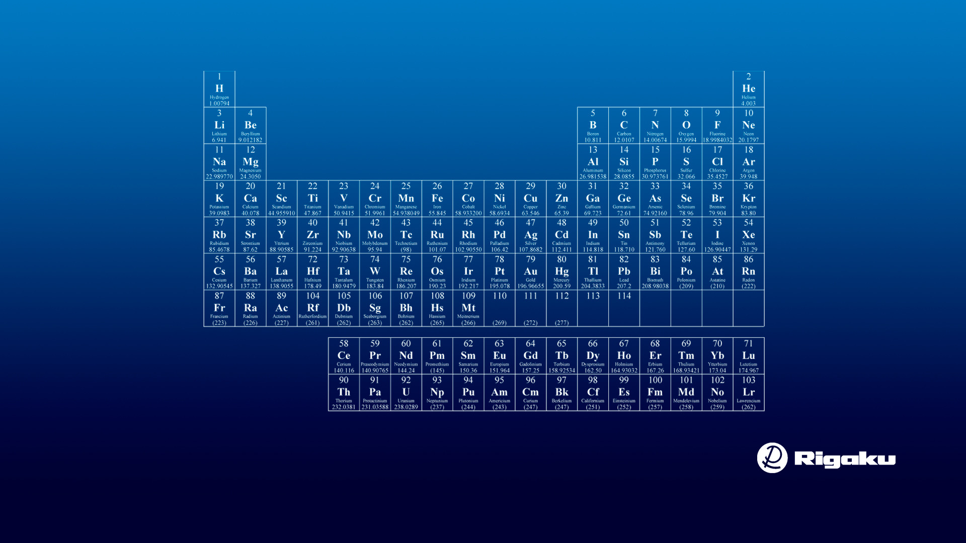 HD Periodic Table Wallpaper 70 images 1920x1080