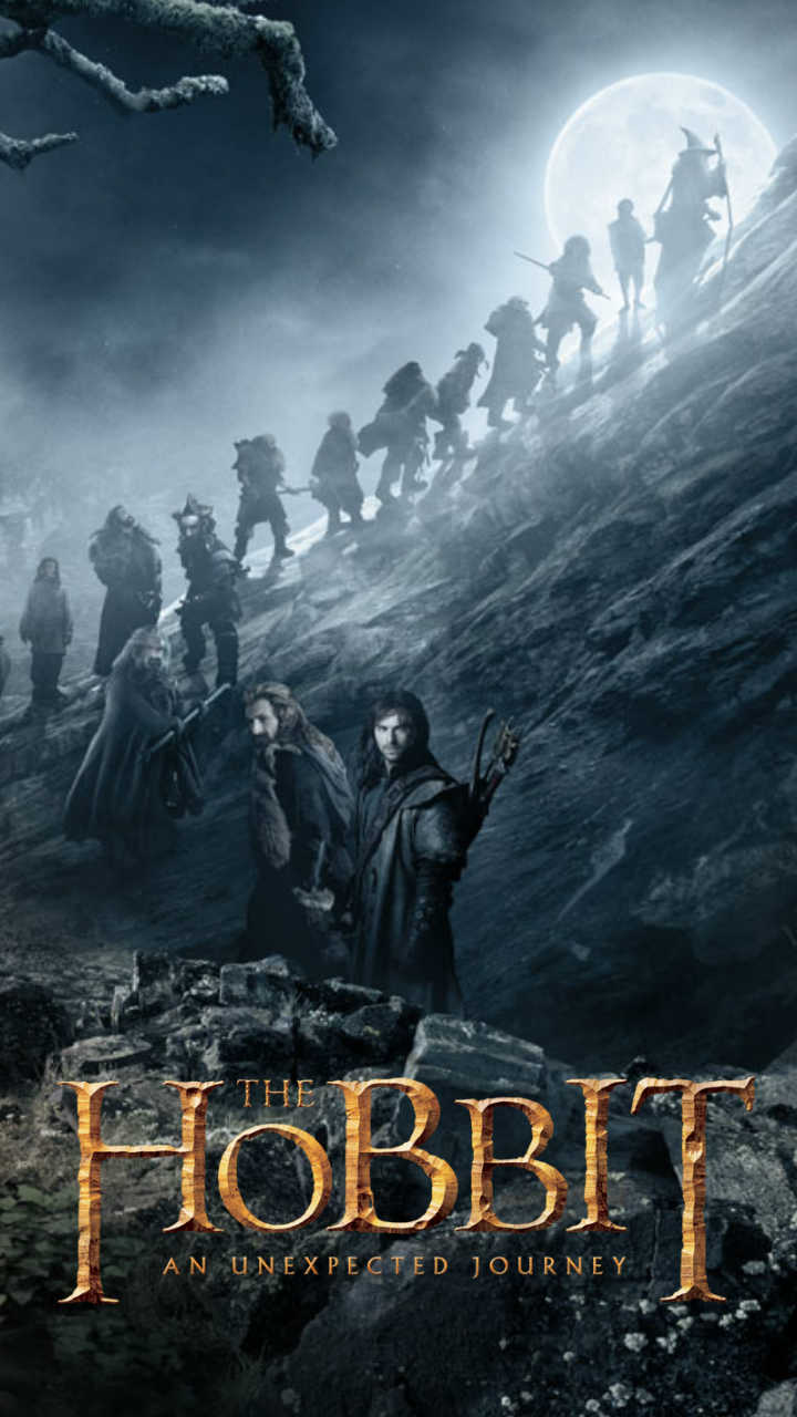 The Hobbit mobile wallpapers for Samsung SIII and iPhone Movie 720x1280
