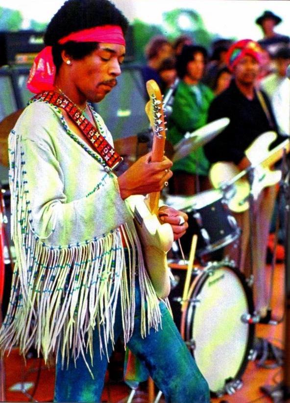 Free Download Jimi Hendrix Woodstock Hd Large Wallpaper