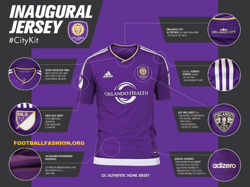 Orlando City SC Launch adidas Home Jersey for Inaugual MLS Season in 1024x768