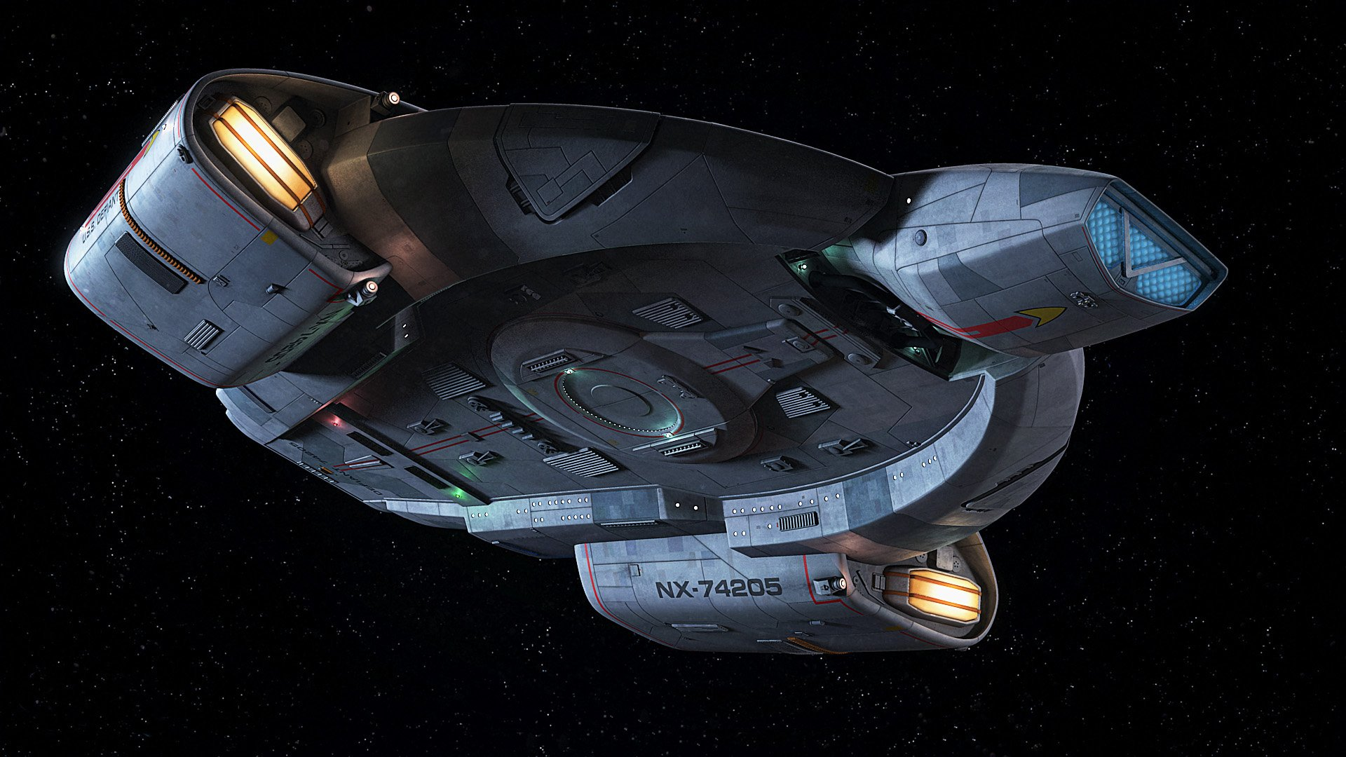 DEEP SPACE NINE Star Trek futuristic television sci fi spaceship 14 1920x1080