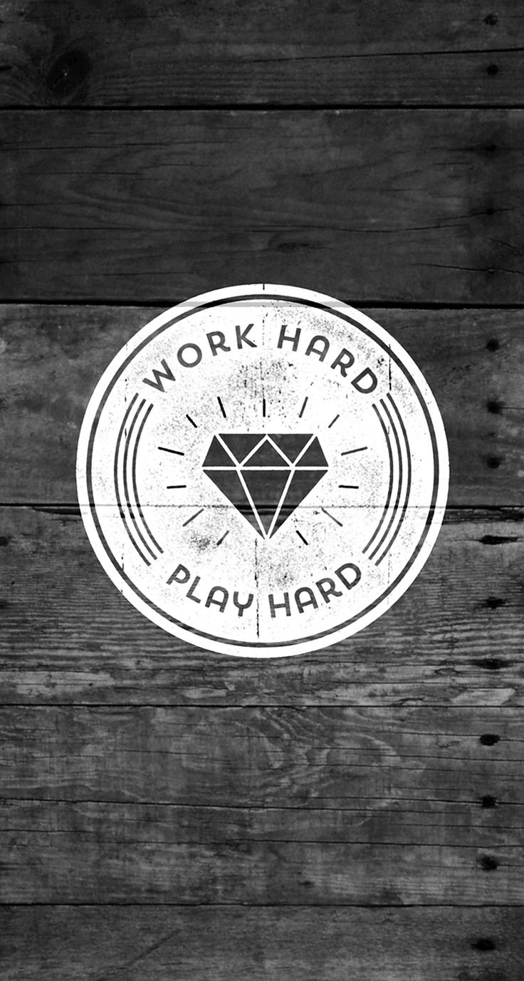 Work Hard Play Hard quotes   iPhone wallpaper mobile9 736x1377