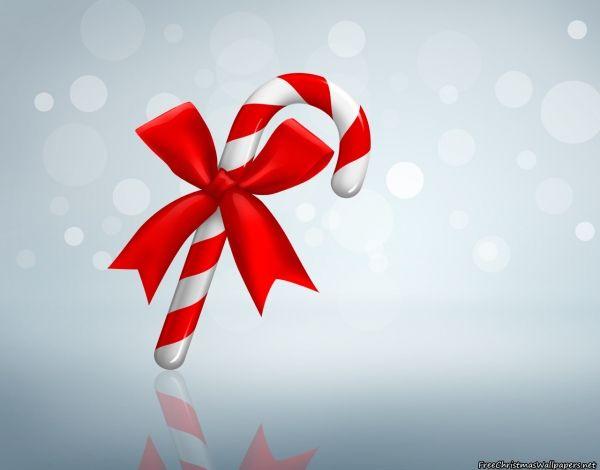Christmas Candy Cane Christmas wallpaper Pinterest 600x470