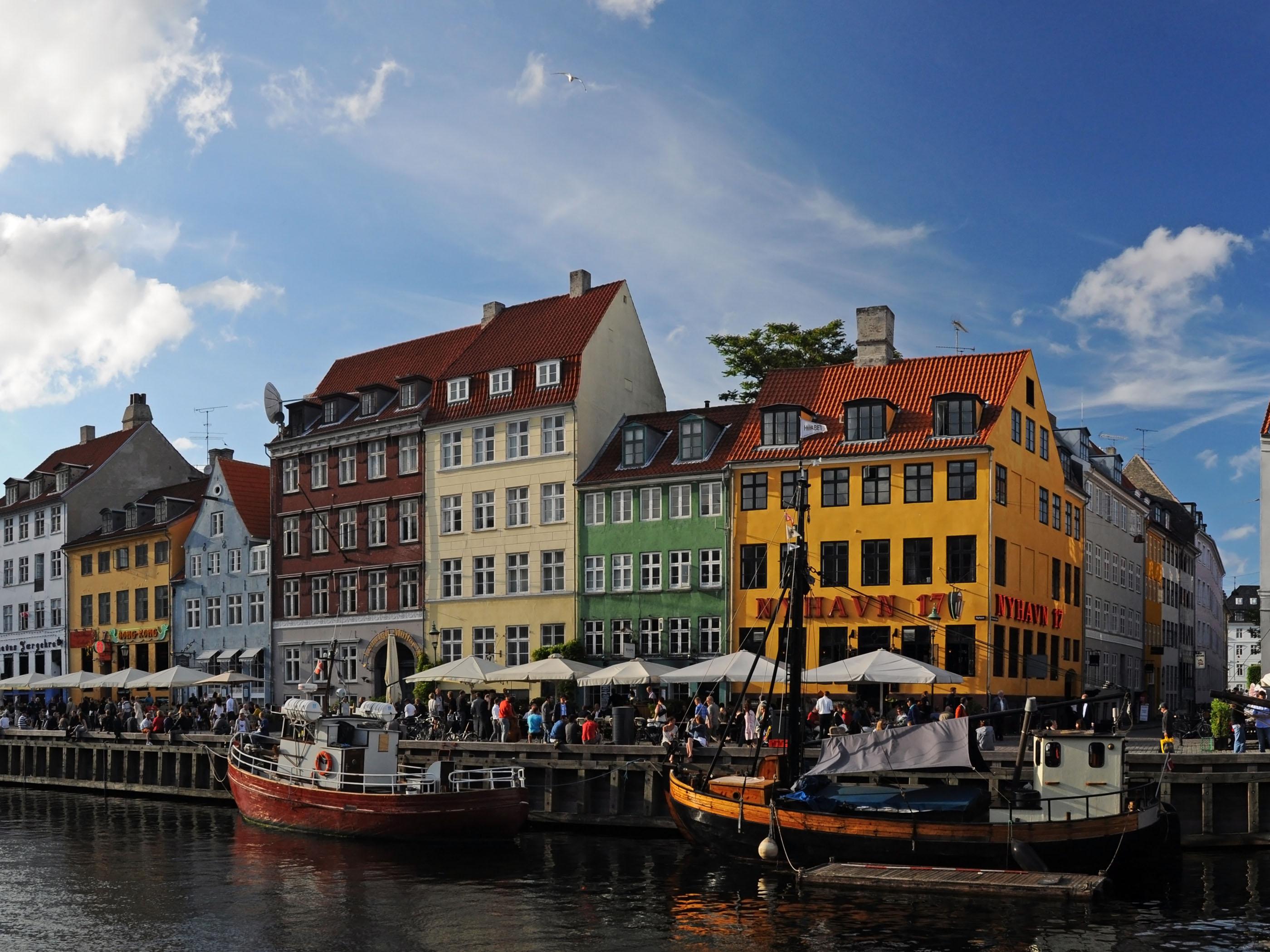 Copenhagen Attractions HD Wallpaper Background Images 2800x2100