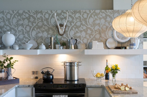 Top 20 Creative Wallpapers Ideas for the Kitchen Eatwell 101 600x399