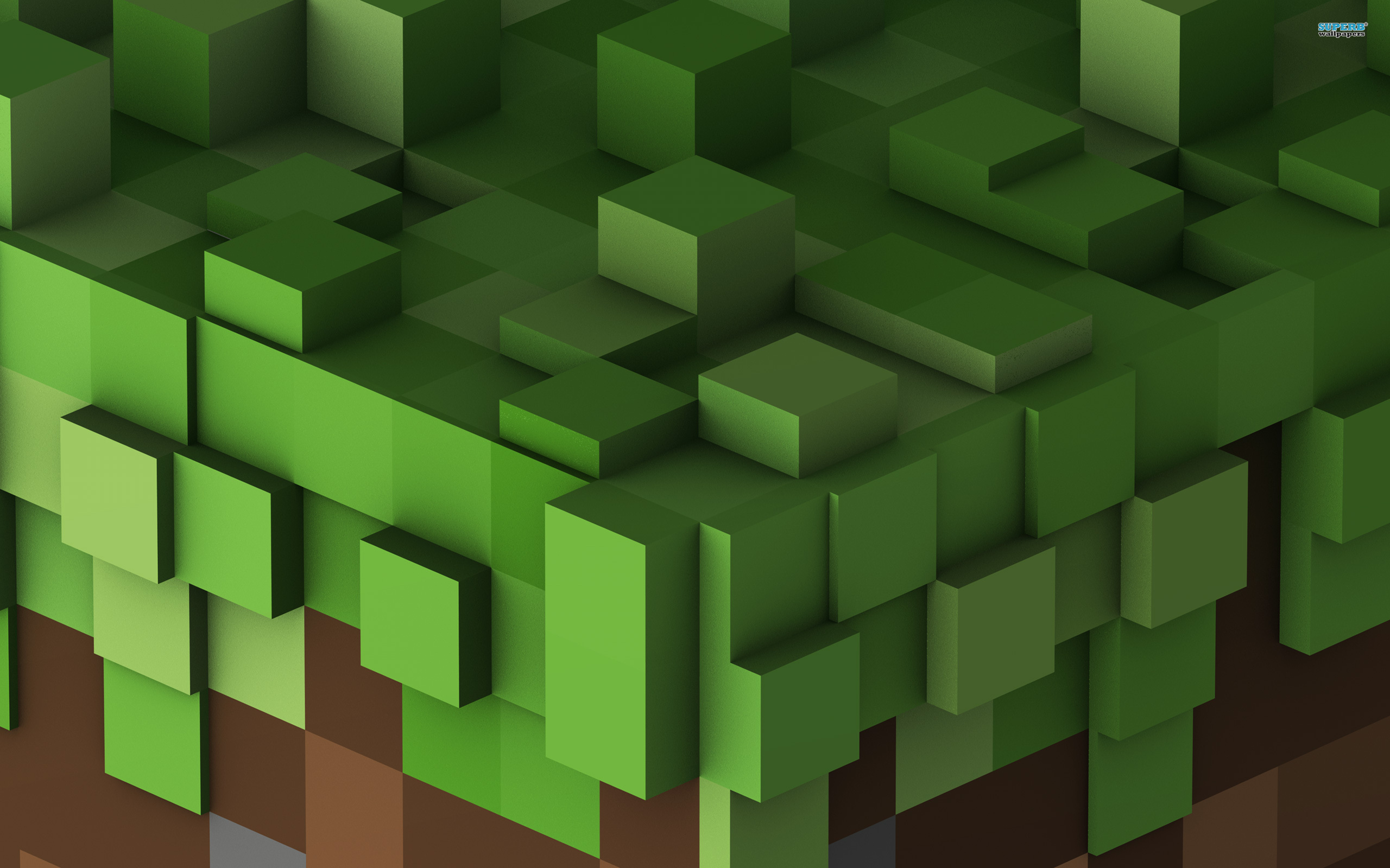 we are giving away 4 HD Minecraft Wallpapers for your desktop 2560x1600