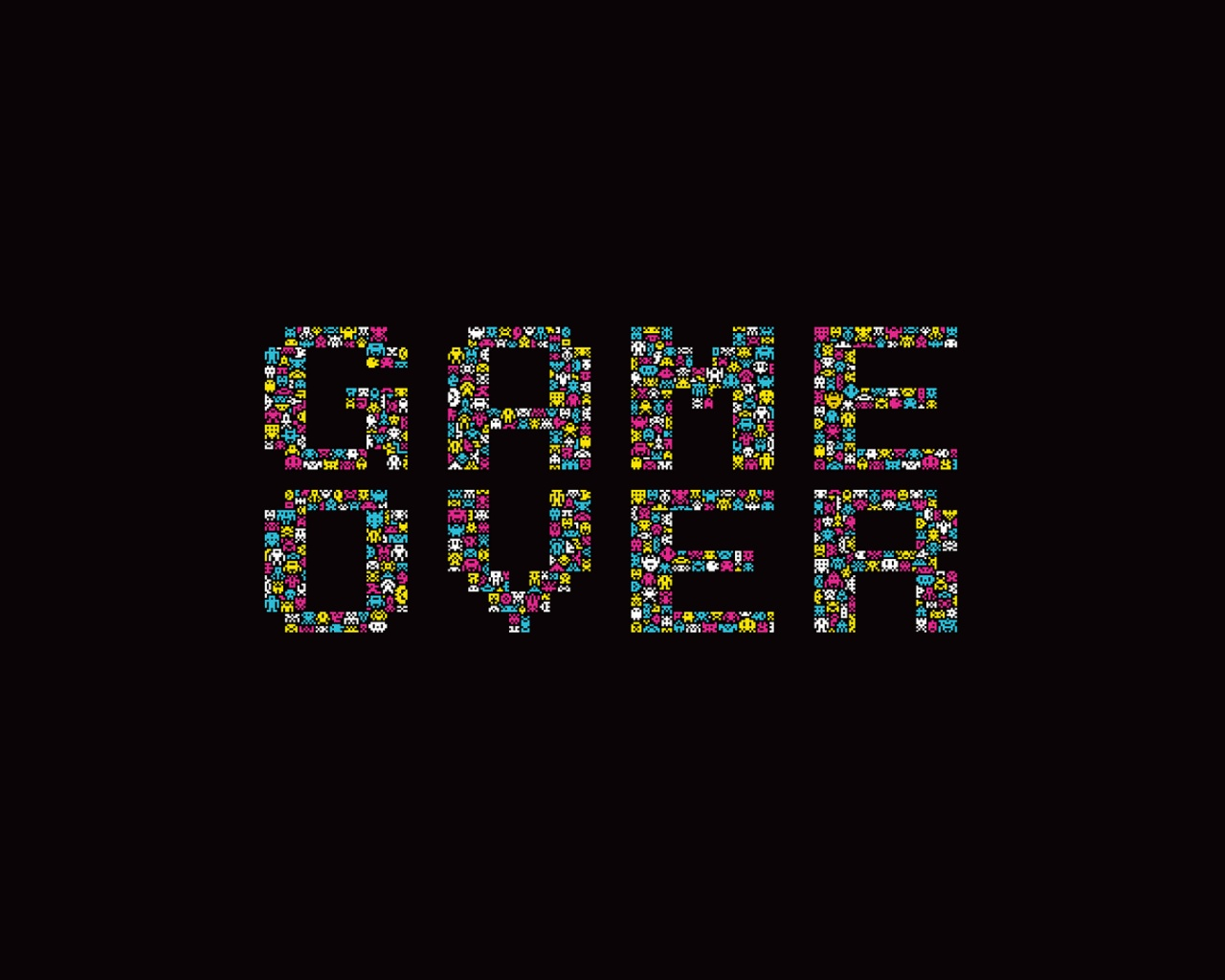 Best 54 Game Over Wallpaper on HipWallpaper Game Wallpapers PC 1280x1024