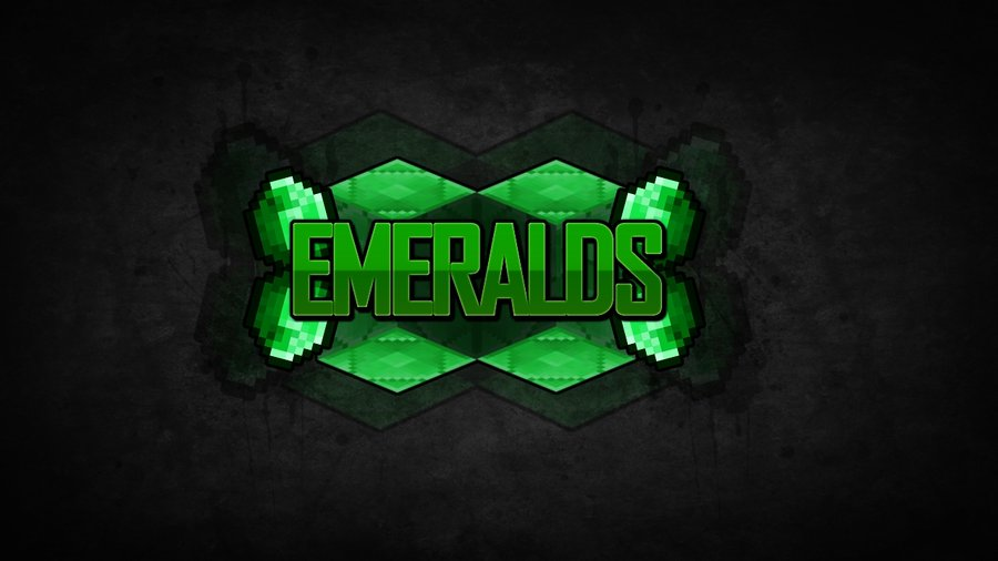 INSANEs Minecraft Wallpapers E2 EMERALDS by InsaneMiner98 on 900x506